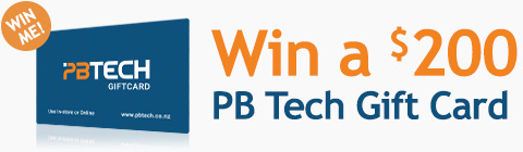 Join our mailing list to enter a monthly draw to win a $200 PB Tech Gift Card!